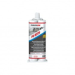 Teroson 9225 Ultra Fast (UF)  Plastic Repair Adhesive, 50ml twin cartridge