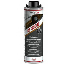 Terotex (Teroson) Super 3000 Anti-Chip (Stone chip), Black, 1lt