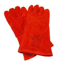 Sealey Leather Welding Gauntlets, Lined, Pair