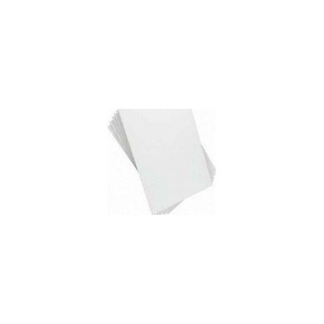 Paper Floor Mats, White, Pack of 250