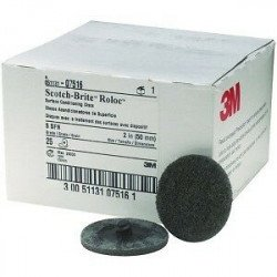 3M 50mm Grey Roloc Super Fine Conditioning Disc, Qty of 25