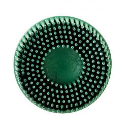 3M 50mm Green Coarse Roloc Bristle Disc, Qty of 10