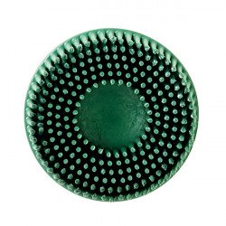 3M 50mm Green Coarse Roloc Bristle Disc, Qty of 10
