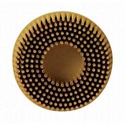 3M 50mm Yellow Medium Roloc Bristle Disc, Qty of 10