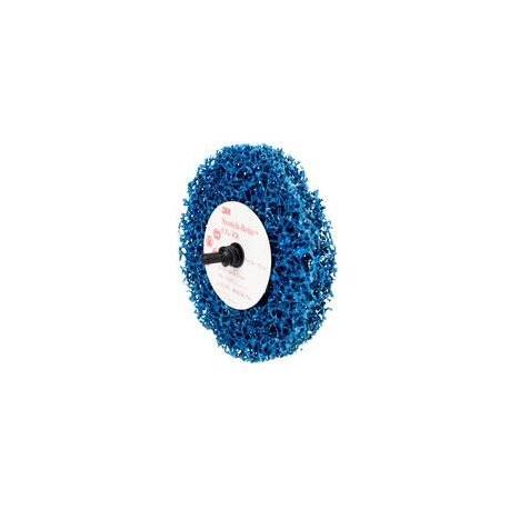 3M 100 x 13mm Blue Scotch-Brite Roloc+ Clean & Strip Disc GP