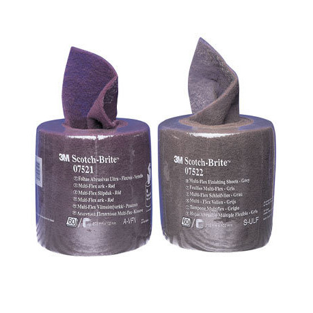 3M Ultra Fine Scotch-Brite Multi-Flex Pre-cut roll, 100 mm x 200 mm