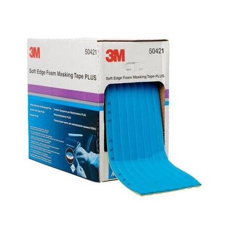 3M Soft Edge Foam Masking Tape PLUS, 21 mm x 7 m
