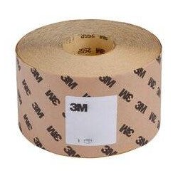 3M P120 115mm x 50m Abrasive Roll of Production Paper