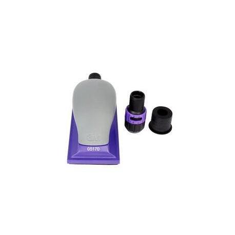3M 70 x 127mm Hookit Purple+ Handblock, Multi Hole