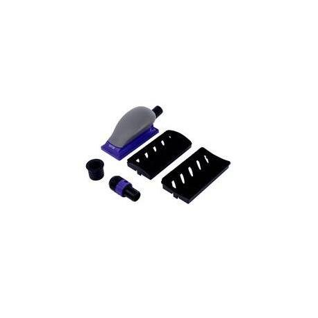 3M 70 x 127mm Hookit Purple+ Curved Adapter Set, Multi Hole