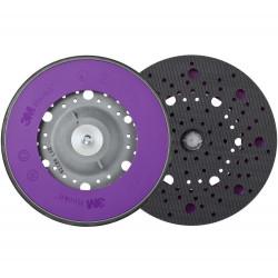 3M 150 mm, M8 Soft Hookit Back-up Pad Multihole