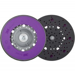 3M 150 mm, M8 Soft Hookit Back-up Pad Multihole