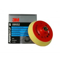 3M 125 mm, 14mm Perfect-It Back-up Pad,