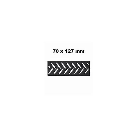 3M 70mm x 127mm Hookit Soft Interface Pad