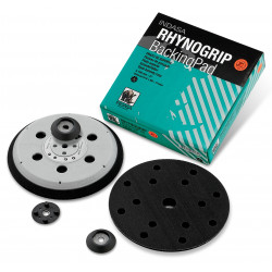 Indasa 150mm Rhynogrip D/A Backing Pad, 15 Hole