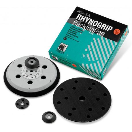 Indasa 150mm Rhynogrip D/A Backing Pad, 15 Hole.
