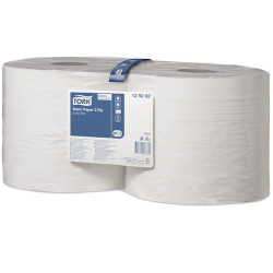 Tork Basic Paper 2 Ply, 23cm x 340m Roll, Pack of 2