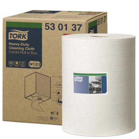 Tork Heavy Duty Cleaning Cloth, 32cm x 106.4m Roll