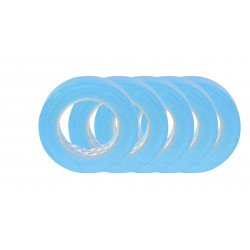 Scotch 48mm x 50m Blue High Performance Masking Tape 3434, 5 rolls
