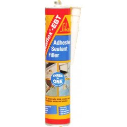 Sikaflex EBT+ Clear Adhesive Sealant 300ml cartridge