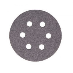 Mirka P500 77mm Quicksilver Discs 6 Hole, Pack of 100.