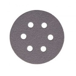 Mirka P500 77mm Quicksilver Discs 6 Hole, Pack of 100