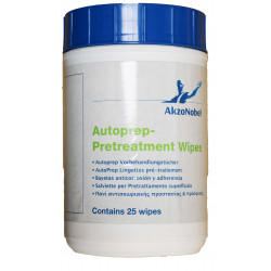 Sikkens Autoprep Pretreatment Wipes, Pack of 25.