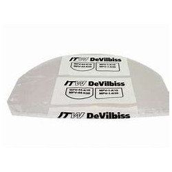 Devilbiss Disposable Visor Covers, Pack of 10