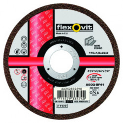 Norton Alu Cutting Disc 115 x 1 x 22mm, Box of 25.
