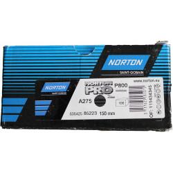 Norton P600 A275 Discs 150mm Plain, Box of 100.
