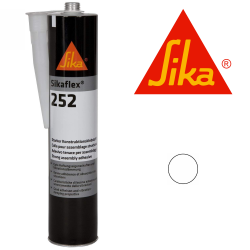 Sikaflex 252 adhesive White 300ml cartridge