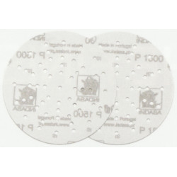 Indasa P800 Film Line Ultravent Disc, 150mm, Pack of 50.