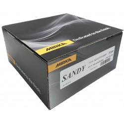 Mirka P80 Sandy Grip Discs, 150mm, 7H, Pack of 100