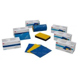 3M P1000 139 x 114mm Grippy Sanding Cloth Roll, 20 pieces