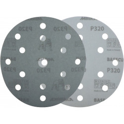 Mirka P80, 150mm Basecut Disc, 15H, Box of 100