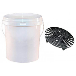 20 Litre Valeters' Bucket with Lid and Grit Protect