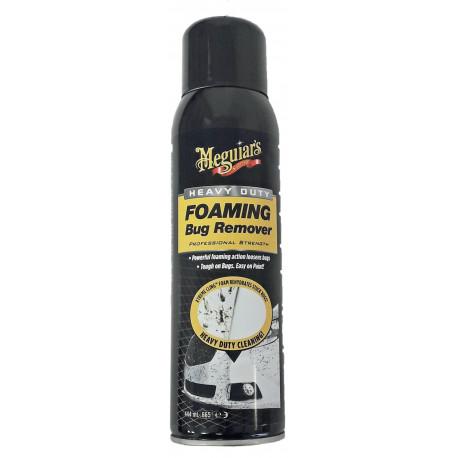 Meguiar's Heavy Duty Foaming Bug Remover, 444ml