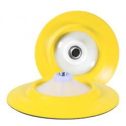 "Farecla G Mop Flexible Back Plate 5/8"" thread, 6"" diameter"
