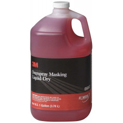3M Overspray Masking Liquid - 1 US Gallon