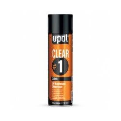 Upol UV Resistant Clearcoat Aerosol 450ml