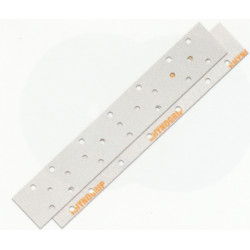Indasa P80 Rhynogrip HT Line Strips 70 x 420mm, 23 Holes, Pack of 50