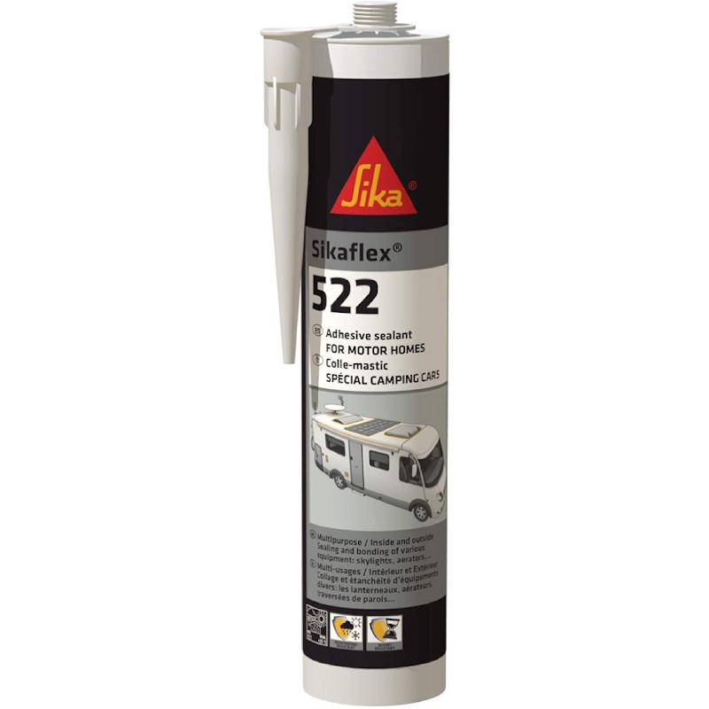Sikaflex 512 X 2-Blanc-Adhésif Mastic-caravane /& Motor Home-Long Expiration