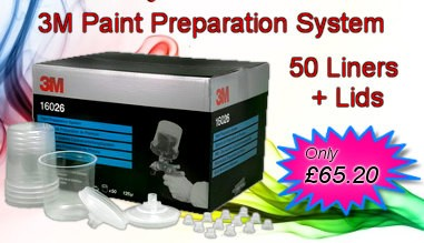 3M PPS System - medium cups - promotion